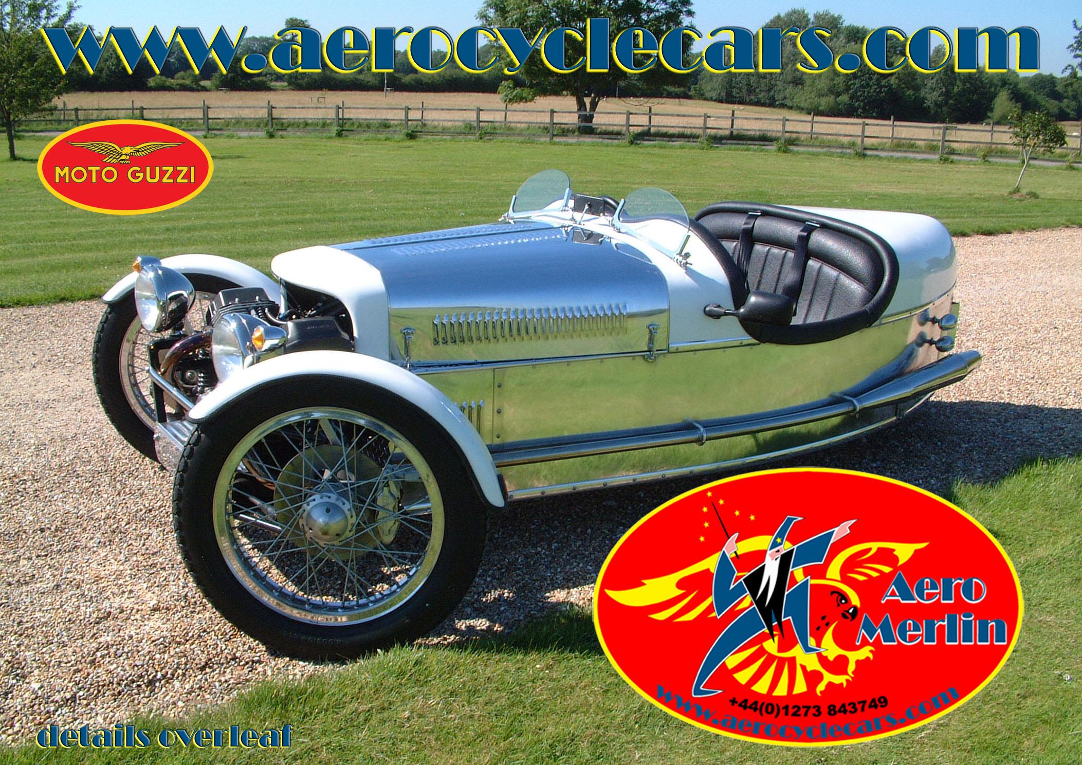 Morgan replica three wheelers,aero cycle cars,